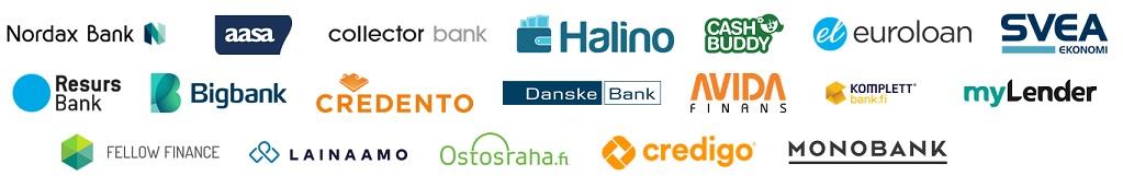Freedom Rahoitus solmii jatkuvasti uusia kumppanisopimuksia pankkien ja muiden palveluiden kanssa.