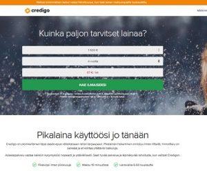 Halvin pikavippi 2018 löytyy Credigo-palvelulta!